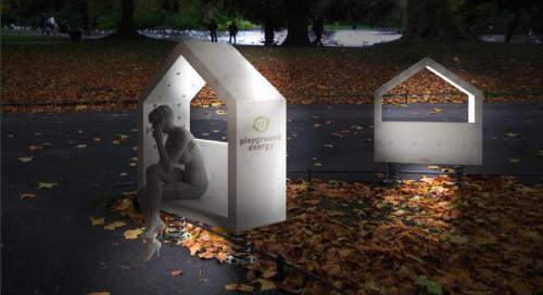Изцяло екологична и рециклируема българска пейка
