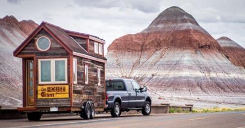 Да следваш мечтите си навсякъде: уютен дом на колела