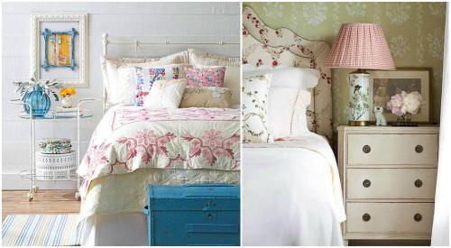 4 прекрасни винтидж спални