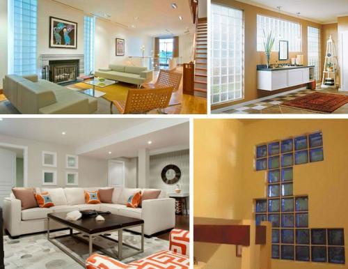 Стъклени тухли – практично решение за разделяне на две помещения