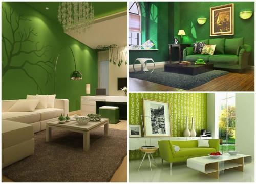 Зеленият цвят умее да успокоява!