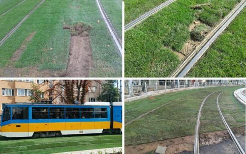 Зелените релси в София породиха спорове
