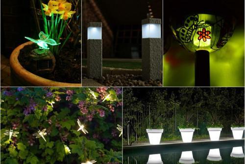 Великолепни идеи за градината - красиви и иновативни соларни лампи