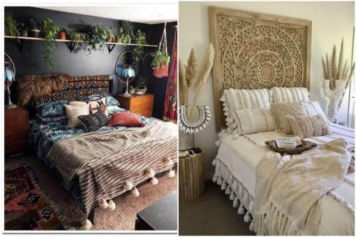 Магията на бохемската спалня