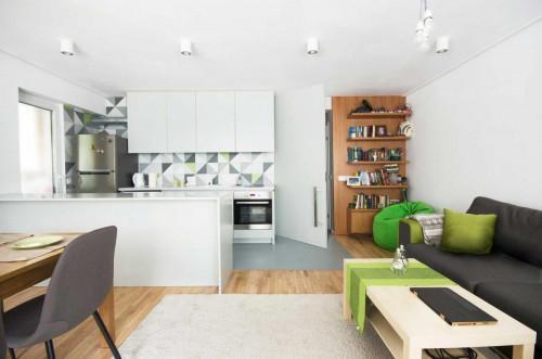 Софийски апартамент с функционален дизайн