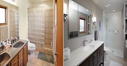 Впечатляващи промени за баня