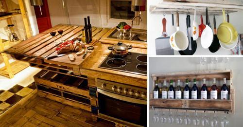 Палети в кухненското обзавеждане