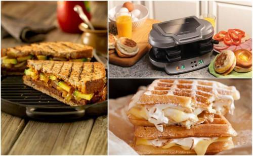 5 стилни сандвич тостери и гофретници за изкушаващи топли закуски