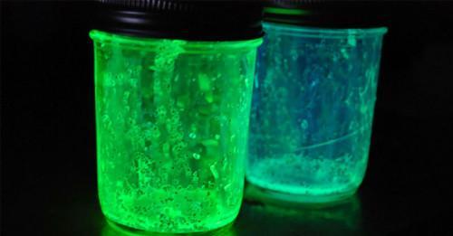 Революционен светещ гел при замърсяване или счупване