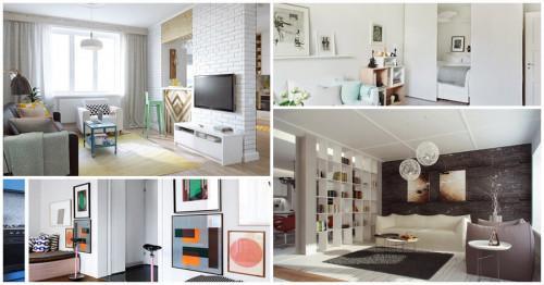 Как да обособим две уютни стаи в рамките на голямото помещение?