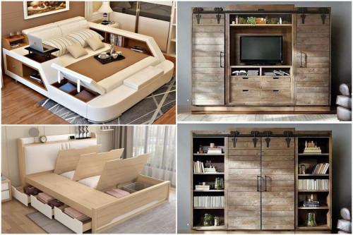 5 идеи за мултифункционални мебели, с които да направите дома си по-организиран и просторен