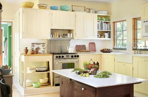 Кухня в цветовете на живота - няколко практични и ценни съвета