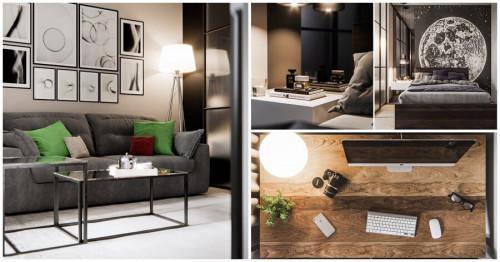 Функционално обзавеждане и артистичен дизайн в 45 кв.м.