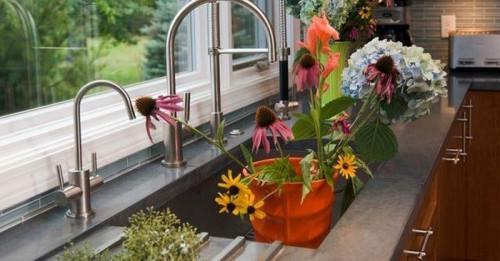Пътеводител в кухнята: Как да изберем мивка