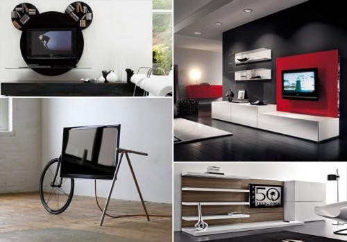 Удобство и стил при секциите за телевизор