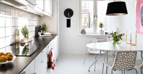 6 креативни дизайнерски идеи за обединяване на малка кухня и трапезария