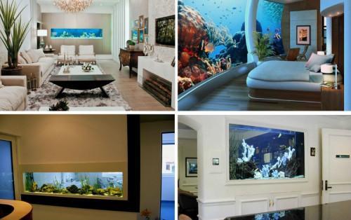 ГОТОВА Вграден аквариум? О, да, заслужава си!