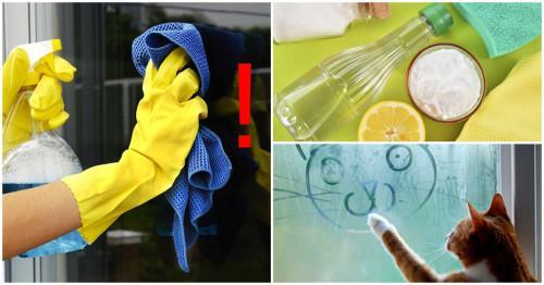 Как да почистим дограмата у дома?