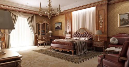 Класическа спалня като по учебник