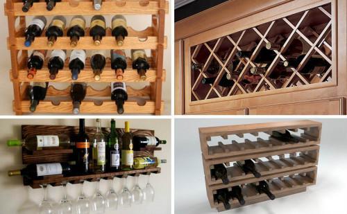 Направете си сами страхотен шкаф за вино