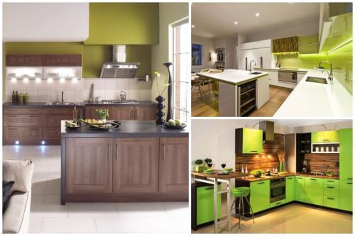Бяло, зелено и дърво - великолепната комбинация, която ще пренесе природата у дома