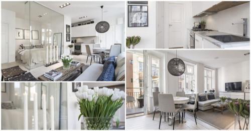 Компактно жилище, съчетало функционалност и елегантен дизайн