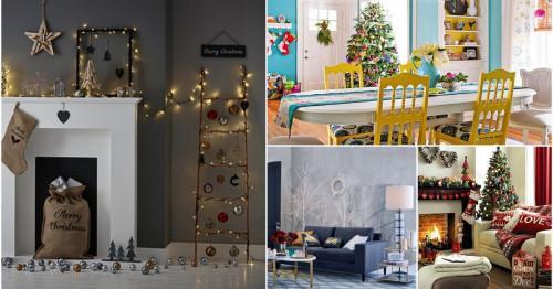 Украсете подходящо за Коледа според интериорния стил на дома си!