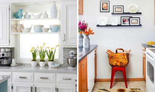 Идеи за красиви и практични малки кухни