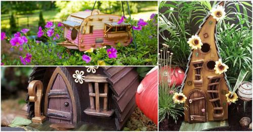 Великолепни идеи за къщичка за птици в градината