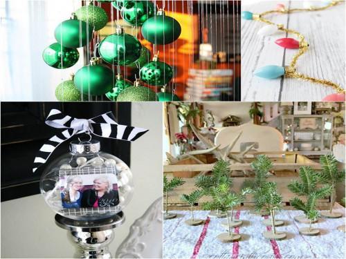Фантастични идеи за коледната декорация, които да направите сами