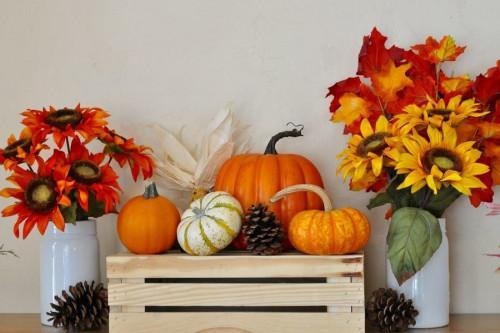 Декорация вдъхновена от есента