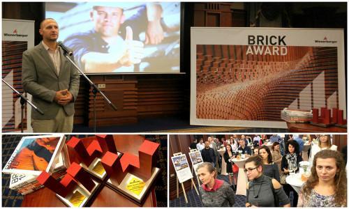 Церемония по награждаване на българските номинации за престижния конкурс Връчване на наградите Brick Awards 2018