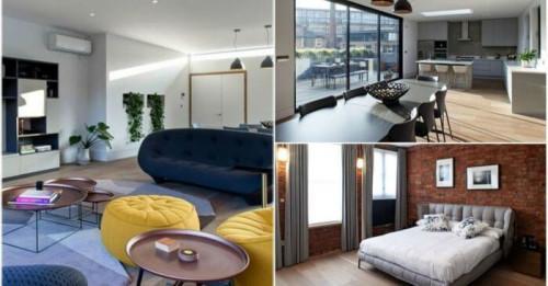 Склад в Лондон се превръща в прекрасен луксозен апартамент