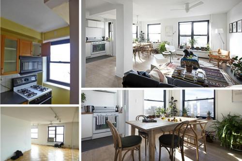 Преди и след: от безличен апартамент до светъл дом в скандинавски стил