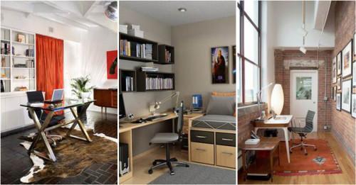 Впечатляващи идеи за интериорен дизайн на домашен офис