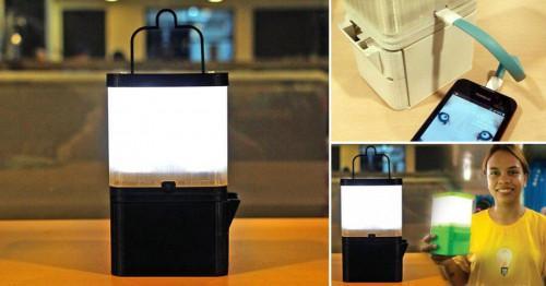 Истина или измама? Лампа, функционираща с вода и сол