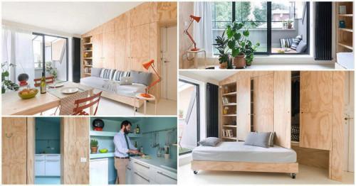 Страхотно съвременно жилище, побрано в едва 28 кв.м.
