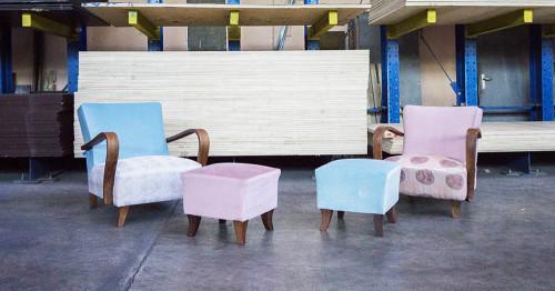 KRESLO.STUDIO дава нов живот на български мебели с история от миналия век