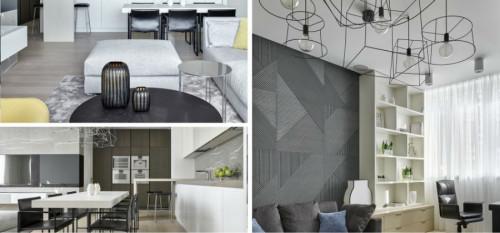 Разкошен модерен апартамент в московски небостъргач