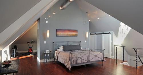 Как един викториански таван в Охайо се превърна в нов модерен апартамент