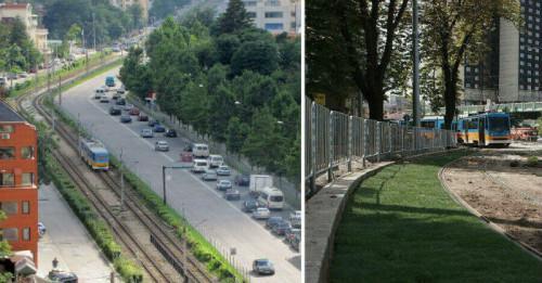 Зелени релси ще има и на други места в София