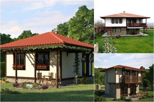 Животът на село - традиционен български екстериор