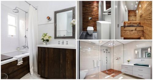 Специалистите съветват: да рискуваме ли с елементи от дърво в банята?