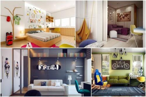 Уникални и вдъхновяващи тийн стаи с невероятен интериор