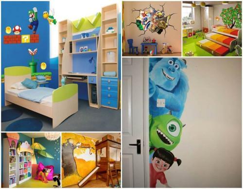 Откъде да започнем, за да постигнем желания резултат за стаята на детето?