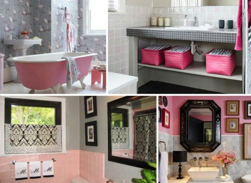 Защо си заслужава да изберете розовия цвят за своята баня