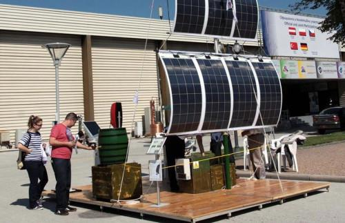 Соларна система за зареждане на мобилни устройства пристига в България