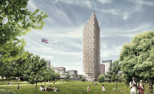 Дървени небостъргачи – новата мода при високите сгради