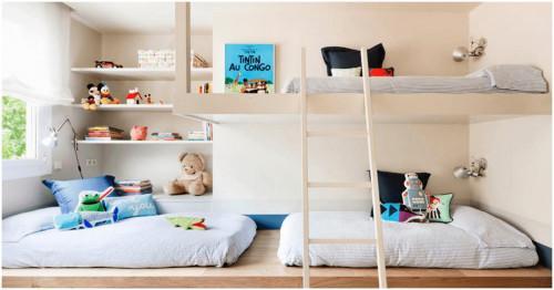 Забавна и цветна детска стая