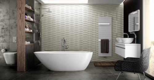 4 идеи за свежи и модерни стенни покрития в банята